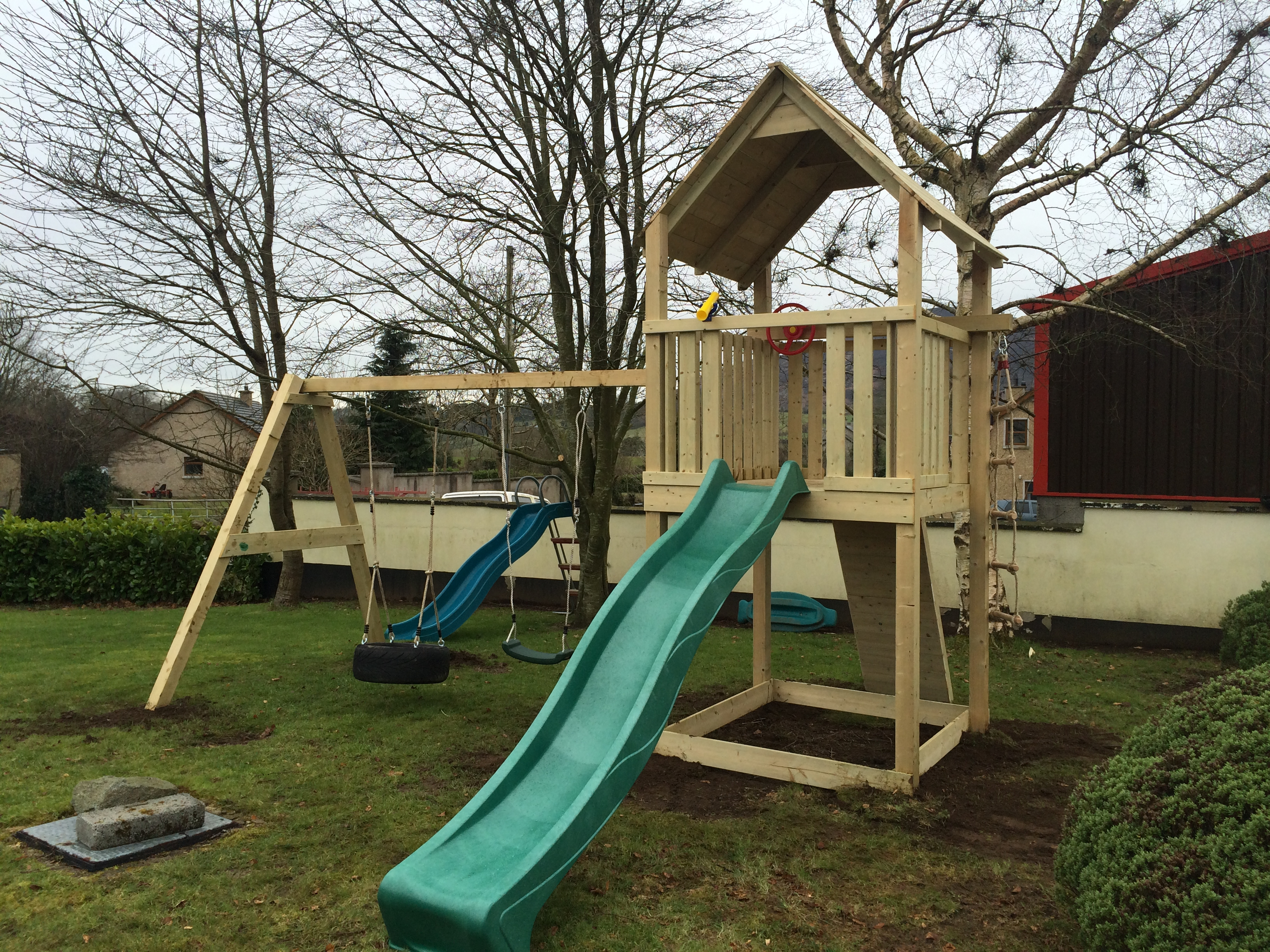 climbing frames | O\'Rourke Playscapes | Northern Ireland